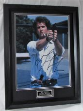 "Mel Gibson signed  ""LETHAL WEAPON"" authentic guaranteed  UACC 001 COA inc"